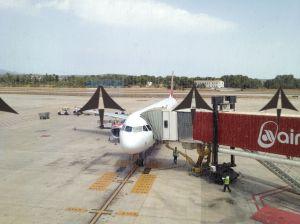 Zwischenlandung auf Palma de Mallorca