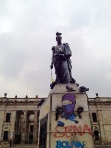 Besuch in Bogotá