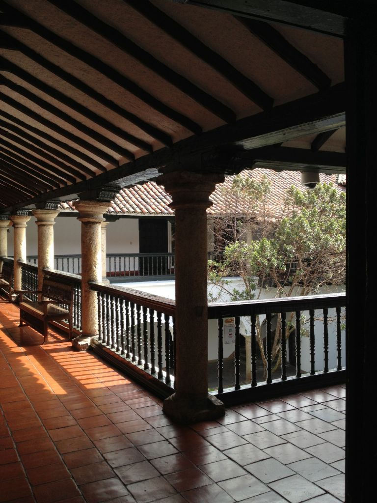 Patio im Museo Botero