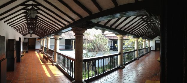 Patio im Museo Botero