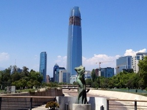 …unterwegs in Santiago 2
