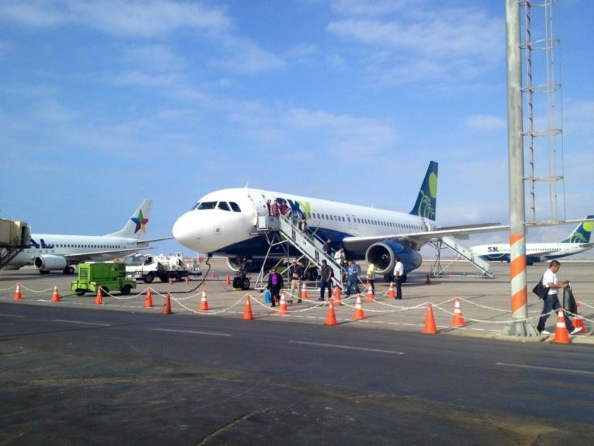 Ankunft in Antofagasta
