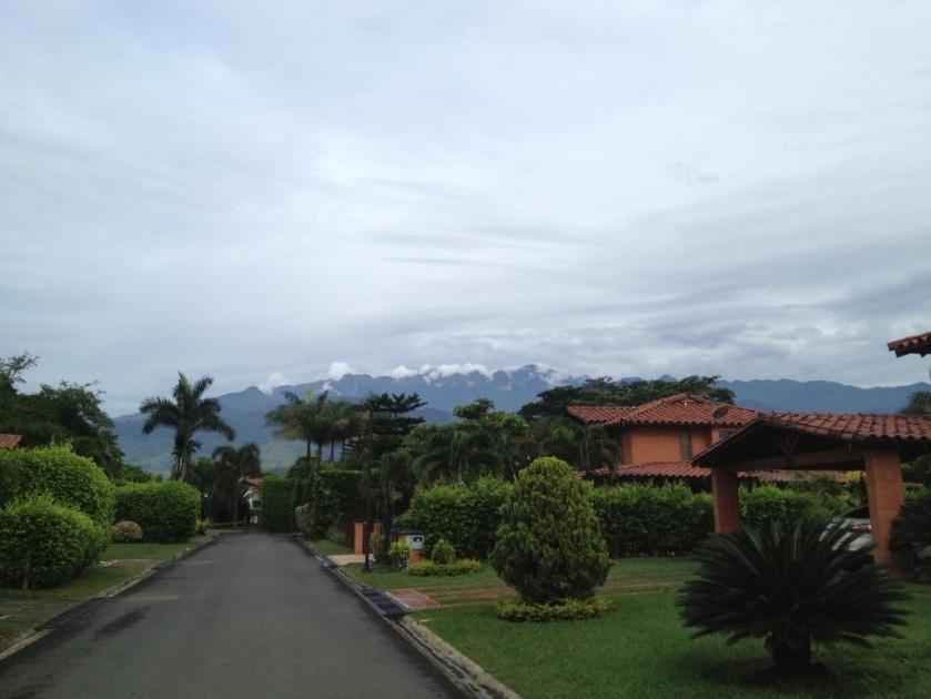 Blick auf die Westkordilliere