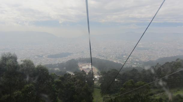 Quito – Ausflug mit der Seilbahn auf denPichincha