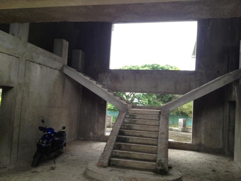 Repräsentativer Treppenaufgang....
