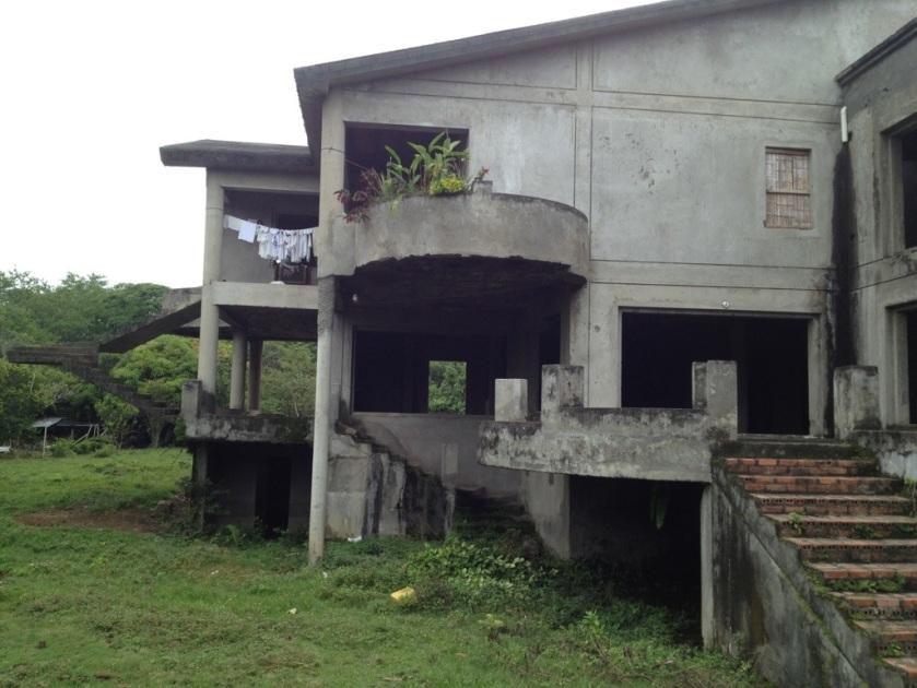 Die Villa ist bewohnt.