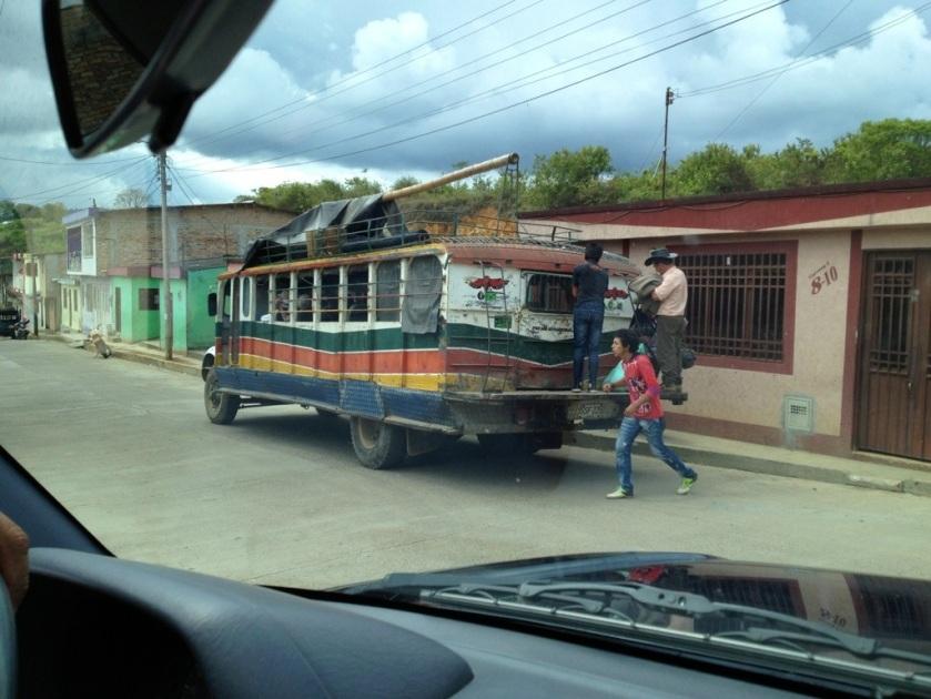 Chiva - das Transportmittel für alles