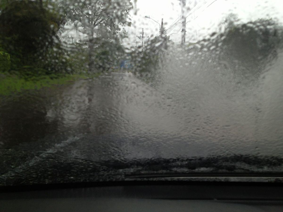 Schwere Regenfälle