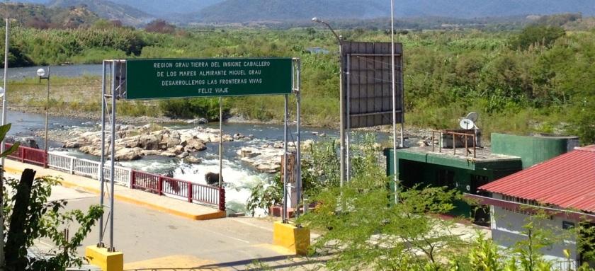 Grenzübergang Macará