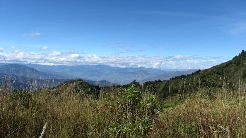 Landschaft im Süden Ecuadors