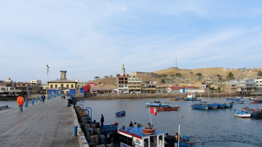 Hafenmole Paita
