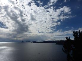 Blick in Richtung Isla del Sol