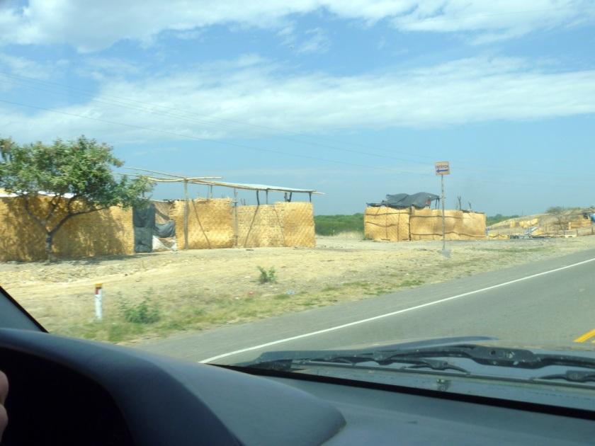 Hütten am Wegesrand