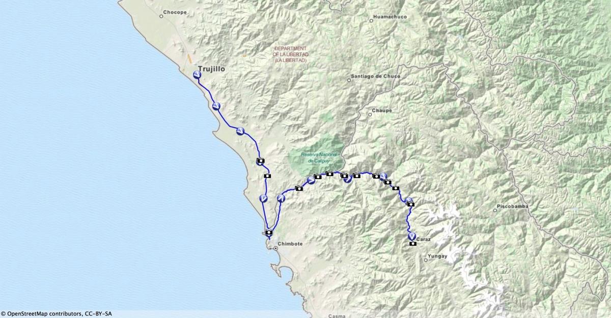 Von Trujillo zur CordilleraBlanca