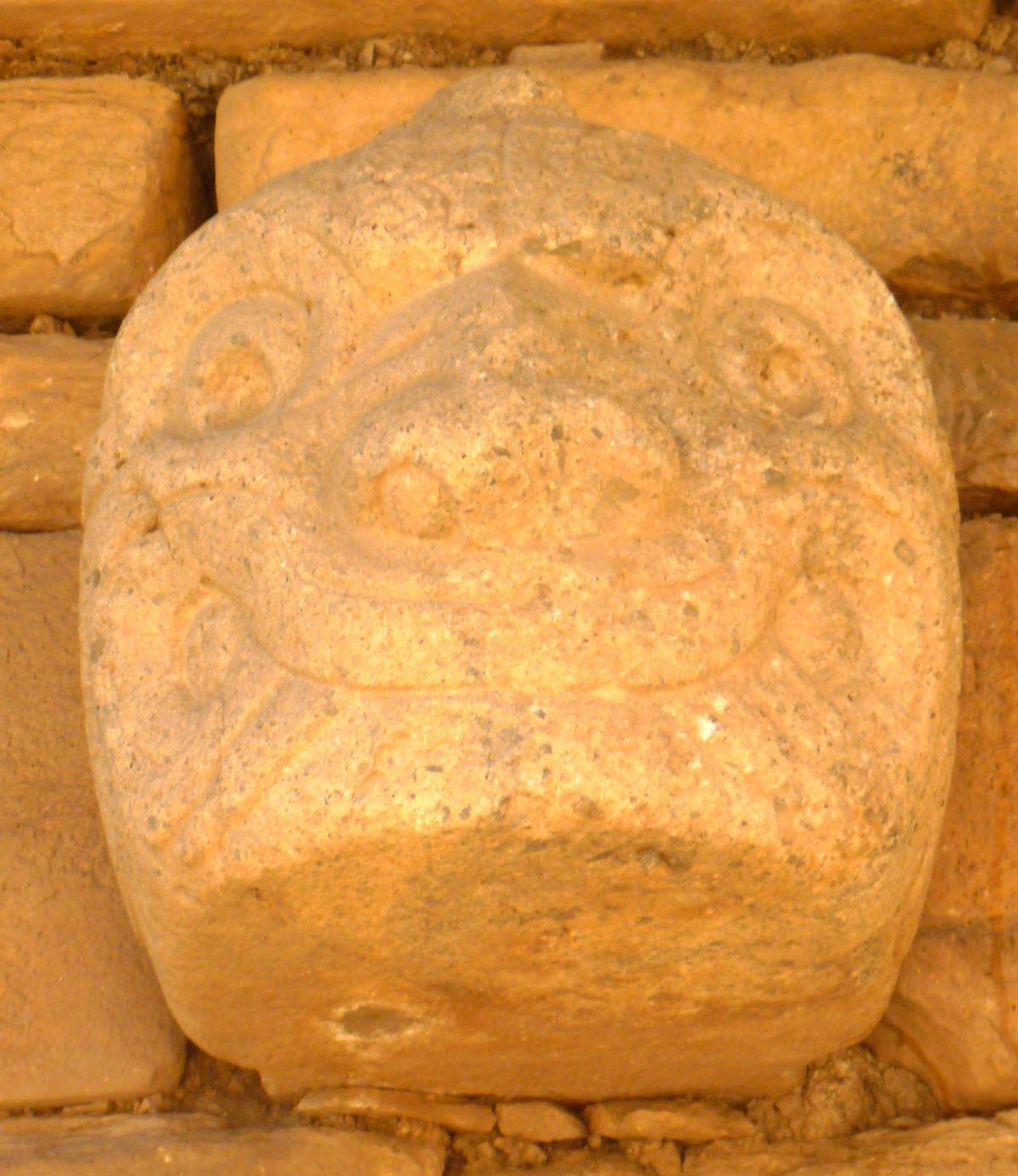 Die Ruinen von Chavin deHuantar
